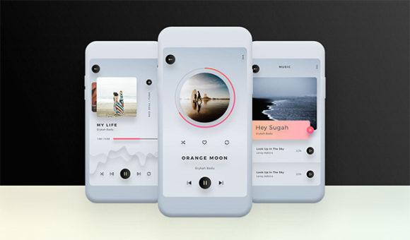 [UI]一个多彩移动设备界面UI套件插图3-泛设计