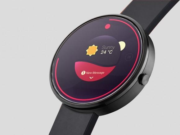 [PSD]智能手表模型样机 | 智能手表表盘展示插图-泛设计