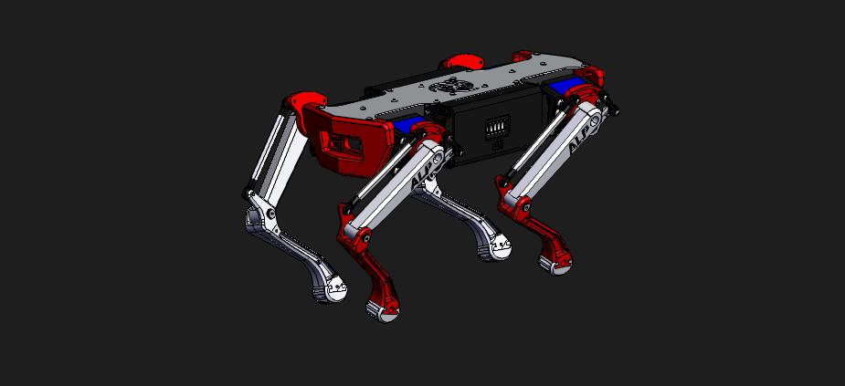 [3D]机器狗模型   阿尔法机器狗  插图3-泛设计