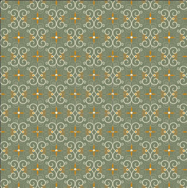 [矢量]6款淡雅漩涡花纹样式   花纹   AI格式插图-泛设计