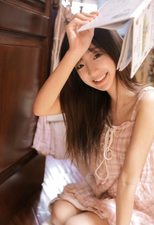 粉嫩小女生笑容开心唯美套图