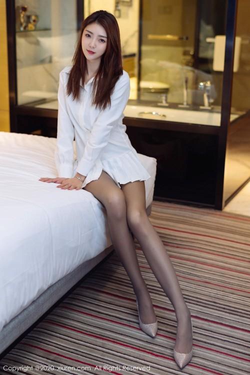娇羞御姐徐安安肉丝牛仔美腿顺滑54p