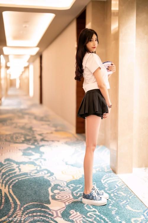 粉嫩巨乳美女模特伊若雪白肉丝女仆装死库水真空写真44p