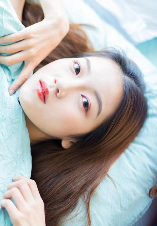 优美长发美女赵婉妮甜美笑容令人着迷24p