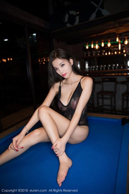 魅惑妖姬杨晨晨吊带连体衣后入式翘臀gogo全球人体高清写真 -美眉图吧