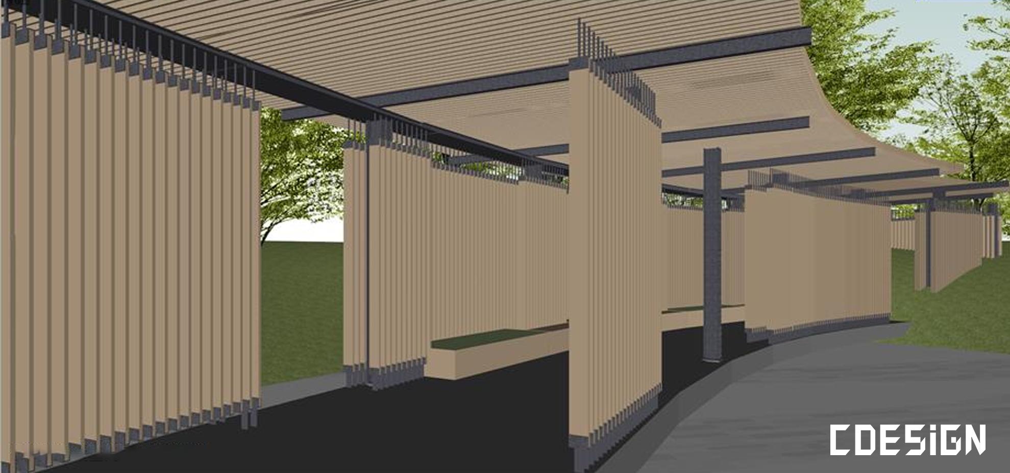 [SU]文化中心建筑设计方案su模型   建筑设计方案插图6-泛设计