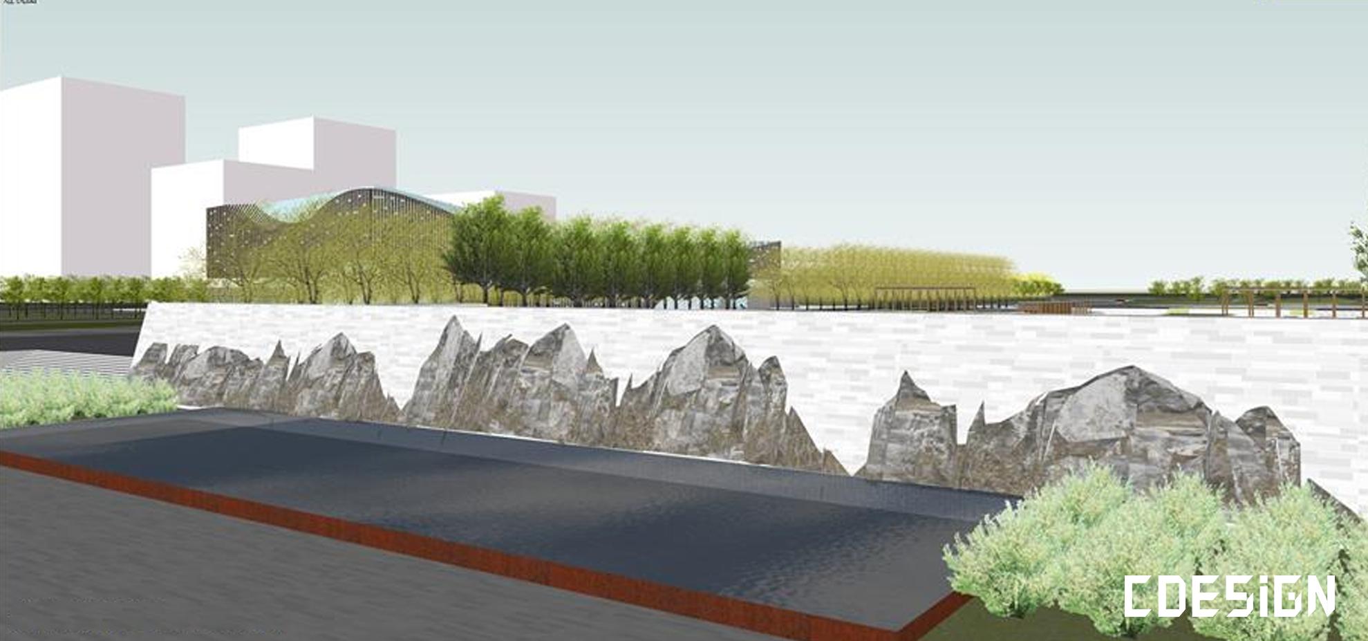 [SU]文化中心建筑设计方案su模型   建筑设计方案插图8-泛设计